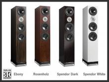 D9 / Ebony, Rosenholz, Spendor Dark, Spendor White