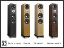 D9 / Esche schwarz, Kirsche, Eiche hell, Walnuss dunkel